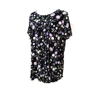 LC Lauren Conrad floral top